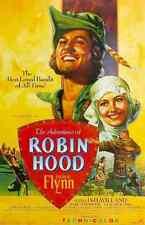 Metal Sign Adventures Of Robin Hood The 04 A4 12x8 Aluminium