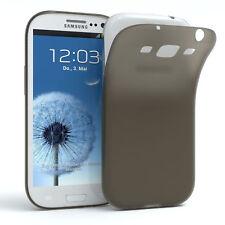 Schutz Hülle für Samsung Galaxy S3 / Neo Cover Handy Case Matt Schwarz