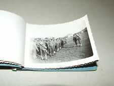 RARE Original WWII U.S. Soldier's Personal Photo Album with B&W Photos and Names
