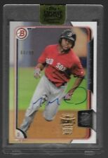 2017 Topps Archives Signature Baseball - Boston Red Sox Manuel Margot Auto /99