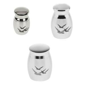 Memorial Miniature Human Urn Keepsake Cremation Ashes Funeral Container Jars