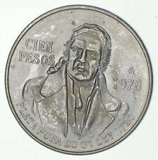SILVER - WORLD COIN - 1978 Mexico 100 Pesos - World Silver Coin *867