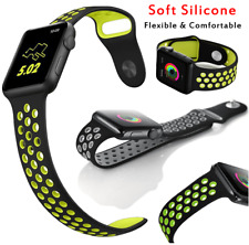 Silicone Replacement Sports Strap Band for Apple Nike+ iWatch watch 42mm