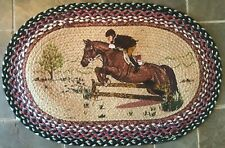 Hunter Jumper Horse Welcome Mat
