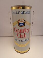 COUNTRY CLUB MALT LIQUOR 16oz STRAIGHT STEEL PULL TAB BEER CAN #148-15-B