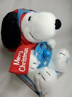 Snoopy Christmas Animated Plush Peanuts Sound Motion Flying Animated Song Lights