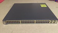 Cisco Catalyst ws-c3750-48ps-e switch Price w/o VAT 50 €
