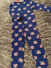 Boys Size 3 Sleepsuit Pjs reversible Zip for Toilet - Warm New Paul Frank