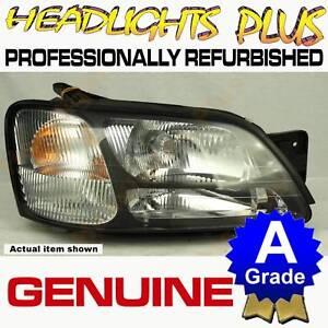 SUBARU LIBERTY Gen 3 (BE) RH Right Headlight 11/1998 to 8/2001  98 99 00 01