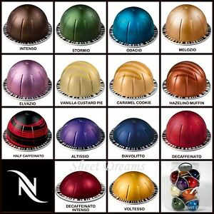 10 Nespresso Vertuo Coffee Espresso Capsules OR Sampler Packs
