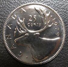 1979 Canada 25 Cents Specimen - Uncirculated Quarter from Specimen Set