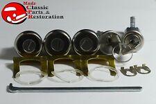 Camaro Firebird Nova Lock Kit Set Ignition Door Trunk Glovebox Original GM Keys