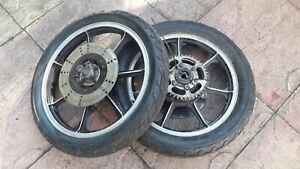 Kawasaki pair of wheels used