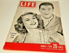 March 7, 1949 LIFE Magazine old 40s COKE COLA ad Advertising FREE SHIPPING 3 8 6