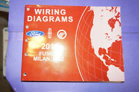 2011 Ford Fusion Mercury Milan Lincoln Mkz Hybrid Wiring Diagrams Service Manual Ebay