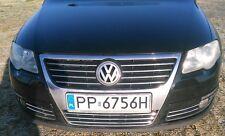 VW PASSAT B6 3C2 3C5 05-11 - CHROME Kit Front Grille Covers 3M Trim Tuning 11PCS