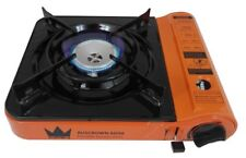 AUSCROWN Butane Stove Portable Single Gas Burner Camp Cooker  AGA APPROVE-NEW