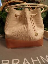 NWT BRAHMIN TRINA IN PUFF I46151UP ONLY ONE ON EBAY  ***RARE ***FREE SHIP*
