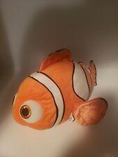 New listing Disney Pixar Plush Finding Nemo Clown Fish Orange Stuffed Animal Toy