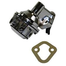 """Chrome Mechanical Fuel Pump Chevy SBC V8 265 283 305 307 327 350 1/4"""" NPT"""