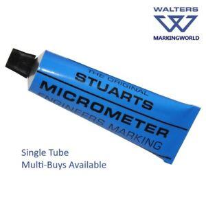 Stuarts Micrometer Engineers Marking Blue (32g Tube) - Identify Hi-spots