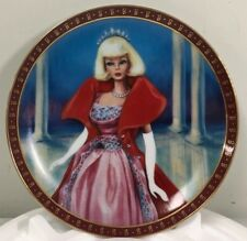 1963 Barbie Sophisticated Lady Limited Edition The Danbury Mint Plate