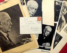 1911 PARTENKIRCHEN - Komponist RICHARD STRAUSS - Brief  + Bilddokumentation