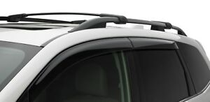 2014-2018 Subaru Forester Side Window Deflectors Vent Visors F0010SG600 Genuine