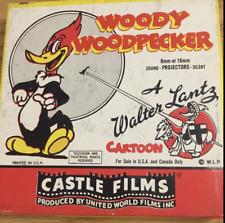 Vintage Castle Film 8mm WOODY WOODPECKER in Original Box