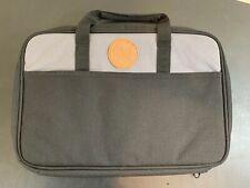 Duluth Trading Co Canvas Master Series Zipper Laptop Carrier Messenger Business