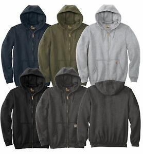 Carhartt Men's Midweight Full Zip Hoodie Workwear NWT 2020