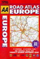 (Very Good)-Road Atlas Europe (Hardcover)--0749512911