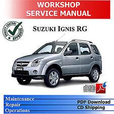 Suzuki Paper Car Service Repair Manuals For Sale Ebay