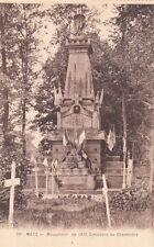 METZ 28 monument de 1870 cimetière de chambière