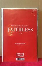FAITHLESS # 4 SEALED BAG EROTIC VARIANT JENNY FRISON IMAGE COMICS