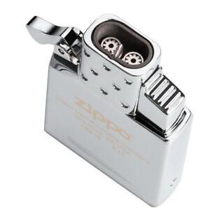 Zippo Butane Lighter Insert Dual Double Jet Torch Fits Regular Zippo Model 65827