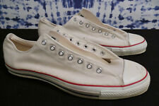 Converse All Star Men's size 16 VINTAGE USA Made 90s Beige Rare Look!