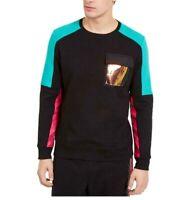 INC International Concepts Men's Elevation Sweatshirt Black Size Large