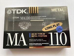 TDK MA 110, 1990-91, Type IV, Kassette, Tape, Cassette, NOS
