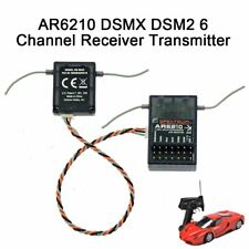 AR6210 2.4GHz 6-Channe Receiver RX Support for Spektrum Transmitter TX RC