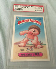1985 TOPPS GARBAGE PAIL KIDS  #44b ONE-EYED JACK - - PSA Ex-MT 6