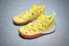 Kyrie SpongeBob SquarePants Basketball Shoes Yellow Sneakers Men Kids