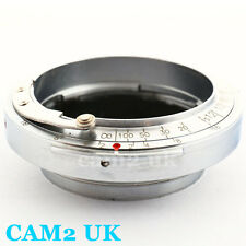 Contax Rangefinder RF CRF mount Lens to Leica SM L39 M39 LTM adapter as Kipon