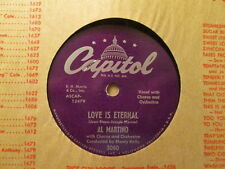 AL MARTINO - Love Is Eternal / The Snowy, Snowy Mountains   CAPITOL 3080 - 78rpm