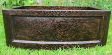 Copper kitchen Sink  25x22x9 Hammered handmade 16 Gauge