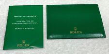 ROLEX Wallet Document Holder Worldwide Service Guarantee Booklet Daytona GMT