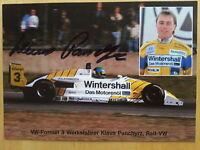 AK m.Orig.AG Klaus Panchyrz GER 2.GP-Monaco 1991 - Formel 3 Weltklasse Rarität!