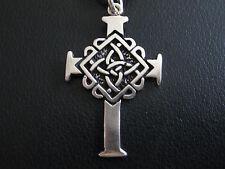 Keltisches Kreuz Silber 925er Kelten Knoten Anhänger / KA 827