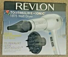 REVLON Tourmaline Ionic 1875W HAIR DRYER;  Ultra Lightweight, shine, volume, +