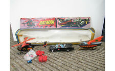 Corgi Batman Batmobile Batboat On Trailer Batcopter Gift Set GS40 Vintage 1976